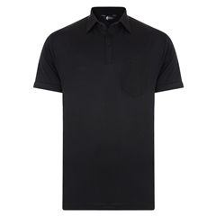 Gabicci Half Sleeve Shirt - Black
