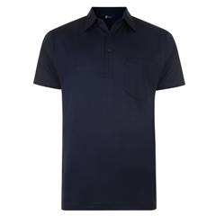 Gabicci Half Sleeve Shirt - Navy