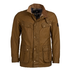 New 2019 Barbour International Men's Lightweight Wax Jacket - Duke - Sand