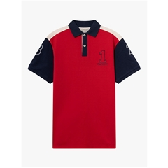 Spring 2019 Hackett Archive Polo Red/Multi