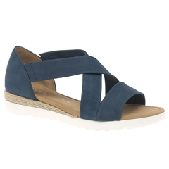 Gabor Promise Sandals - Navy