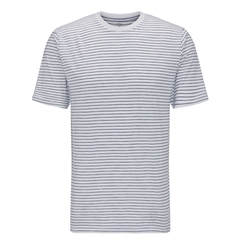 Fynch Hatton Striped Cotton T-Shirt - White