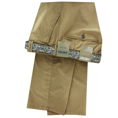 Meyer Cotton Trouser - Sand - Rio 3117 44