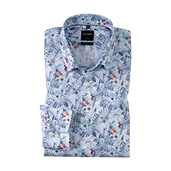 Olymp Modern Fit Short Sleeve Shirt - Mint