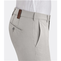 New 2019 Meyer MMX Textured Cotton Trouser - Beige - Lupus 7053 32