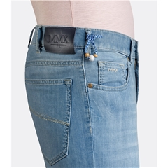 New 2019 Meyer MMX Super-Stretch Lightweight Denim Jean - Light Blue - Phoenix 7144 16