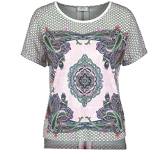 Gerry Weber Ornamental Print Tee - Multi