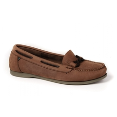 Dubarry - Women's Rhodes Deck Shoe - Cafe