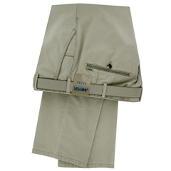 Meyer Summer Cotton Trouser - Beige - New York 5001 32