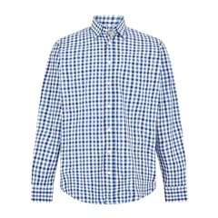 Dubarry Coachford Men's Shirt - Royal Blue