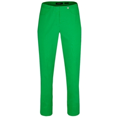 Robell Trousers - Bella Ankle-Length Trouser - Apple