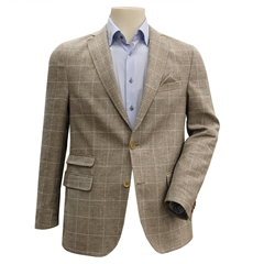 Linen & Wool Summer Jacket - Beige