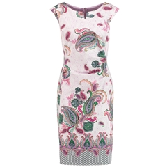 Gerry Weber Paisley Dress - Lilac