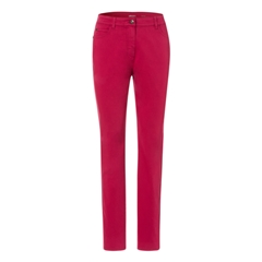 Olsen Long Casual Trousers Barolo Red