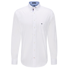 Fynch Hatton Premium Cotton Shirt - White