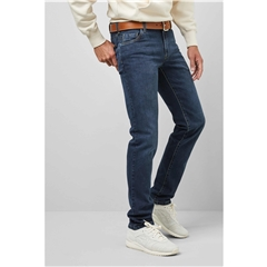 Meyer M5 Slim Denim Jean - Washed Denim - 6207 18