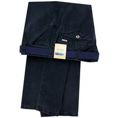 Meyer Cotton Trouser - Navy - Chicago 5573 18