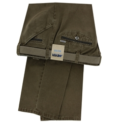 Meyer Cotton Trouser - Taupe - Chicago 5573 34