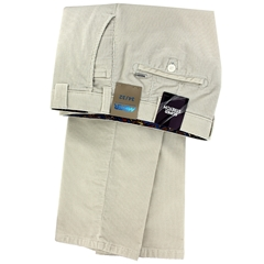 Meyer Corduroy Trouser - Off White - Roma 3701 30