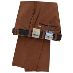 New Autumn Meyer Cotton Trouser - Rust - Oslo 5574 47 - Online Exclusive