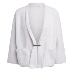 Oui Cosy Cardigan - Cream