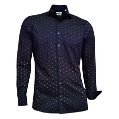 Giordano Shirt - Navy Ground Multi Spots
