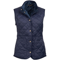 Barbour Jasmine Quilted Gilet - Navy