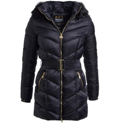 Barbour International Highpoint Quilted Jacket - Black