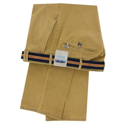Meyer Cotton Twill Trouser - Caramel - Rio 3512 44 - Online Exclusive