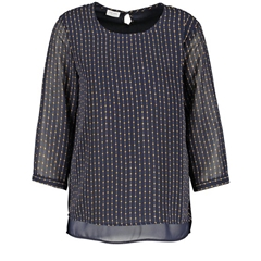 Gerry Weber 3/4 Sleeve Blouse - Navy