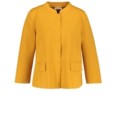 Gerry Weber Flared Short Blazer - Mustard