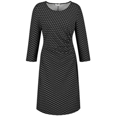 Gerry Weber Fitted Dress - Black