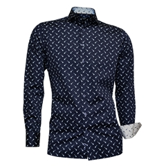 Giordano Guitar Shirt - Navy