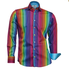 Claudio Lugli Shirt - Multi Stripes