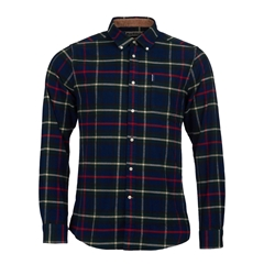 Barbour Highland Check 19 - Navy