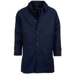 Barbour Maghill Waterproof Trench Coat - Navy