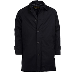 Barbour Maghill Waterproof Trench Coat - Black