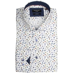 Giordano Playing Cards Print Shirt