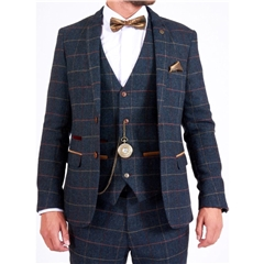 Marc Darcy Eton 3 Piece Men's Suit