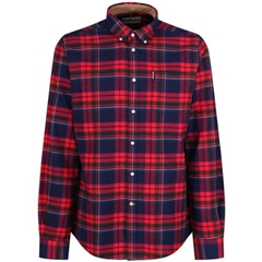 Barbour Highland Check - Rich Red