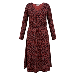 Masai Nia Dress - Red Ochre