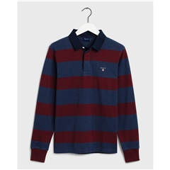 Gant Original Barstripe Heavy Rugger- Port Red
