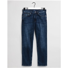 Gant Regular Fit Jeans - Dark Blue