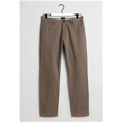Gant Regular Fit Comfort Super Chinos - Desert Brown
