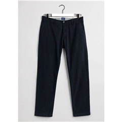 Gant Regular Fit Comfort Super Chinos - Navy