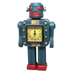 Robot With Clock