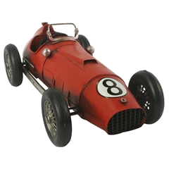 Red 1950's Racing Car