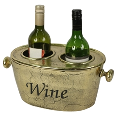 Brass Wine Bucket With Lid