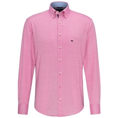 Fynch Hatton Supersoft Oxford Cotton Shirt - Softberry