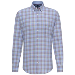 Fynch Hatton Premium Cotton Shirt - Multicolour Check